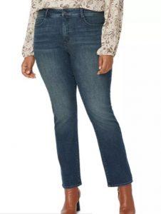 Marilyn Straight-Leg Jeans in Prosperity, $71.40