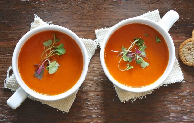 The benefits of eating Tomato Soup