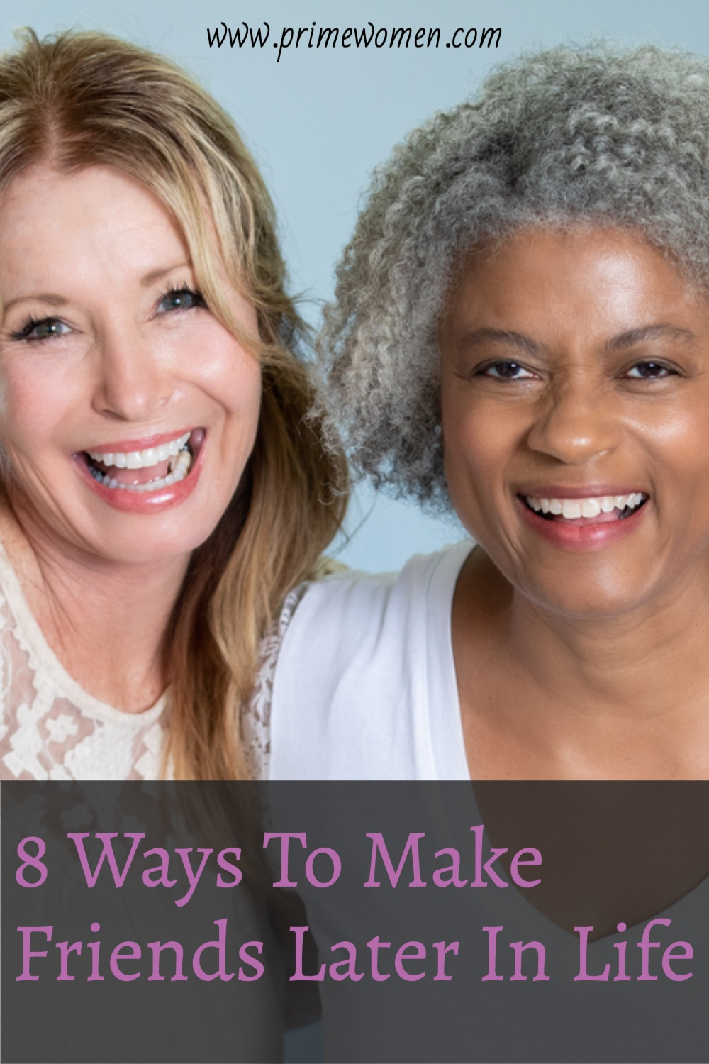8 ways to make friends later in life