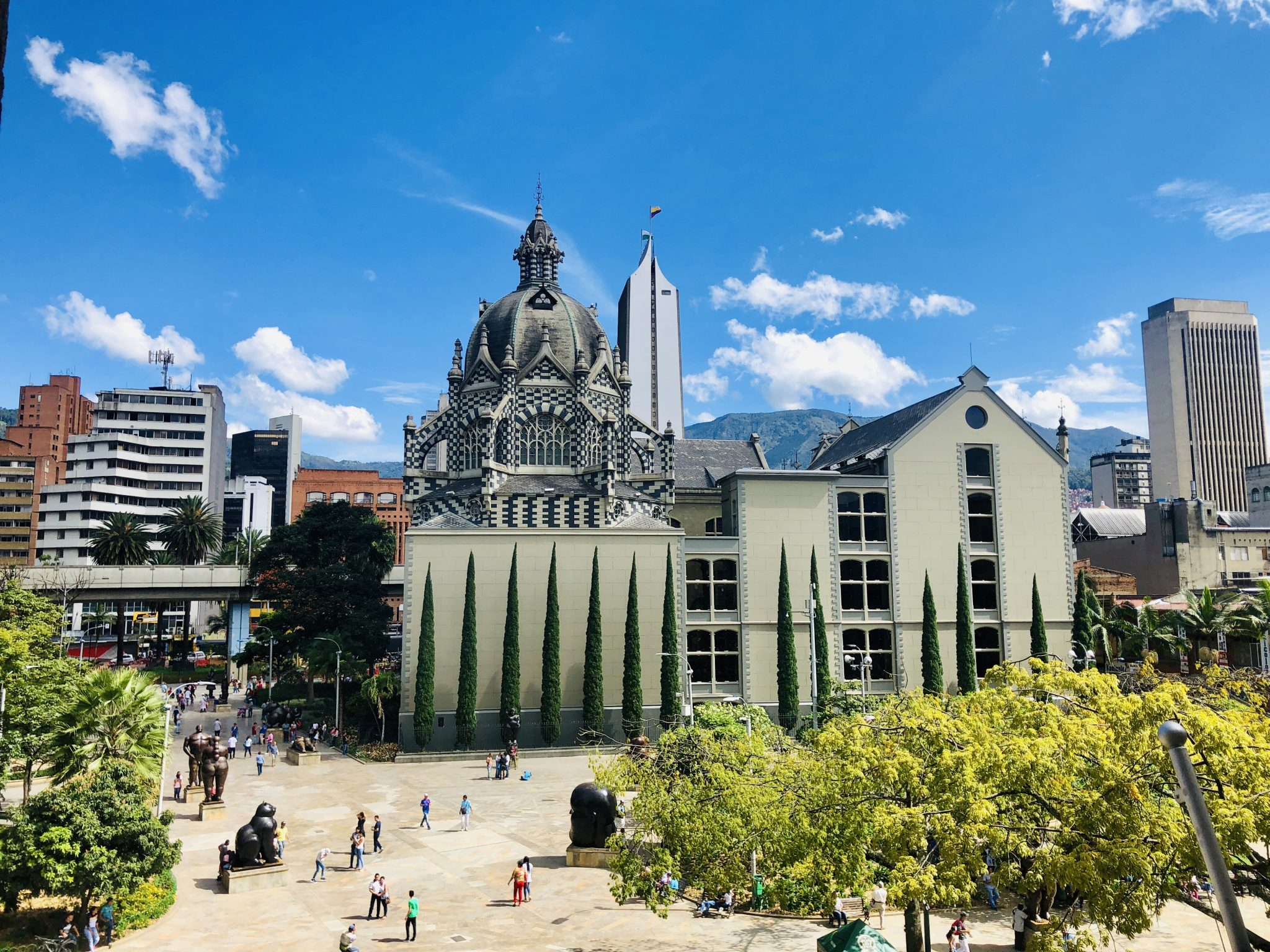 Botero Square in Medellin