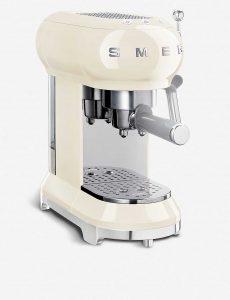 Smeg cream espresso machine, $380