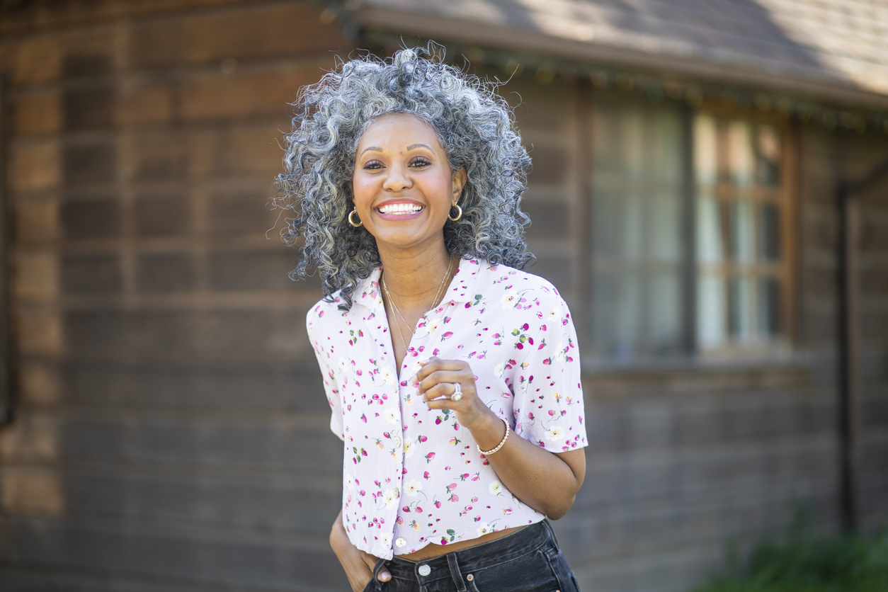 How to Soften Curly Coarse Gray Hair