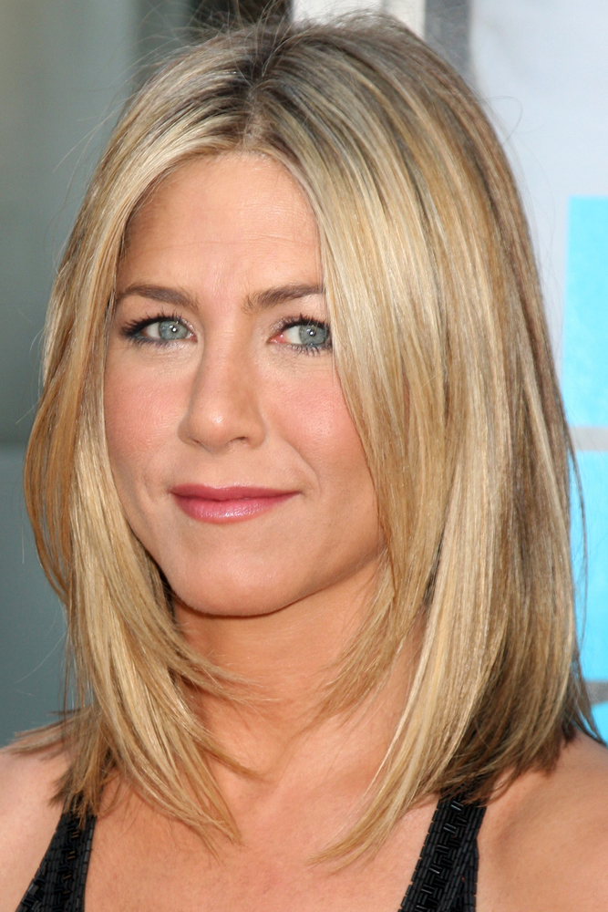 Jennifer Aniston Lob Haircut