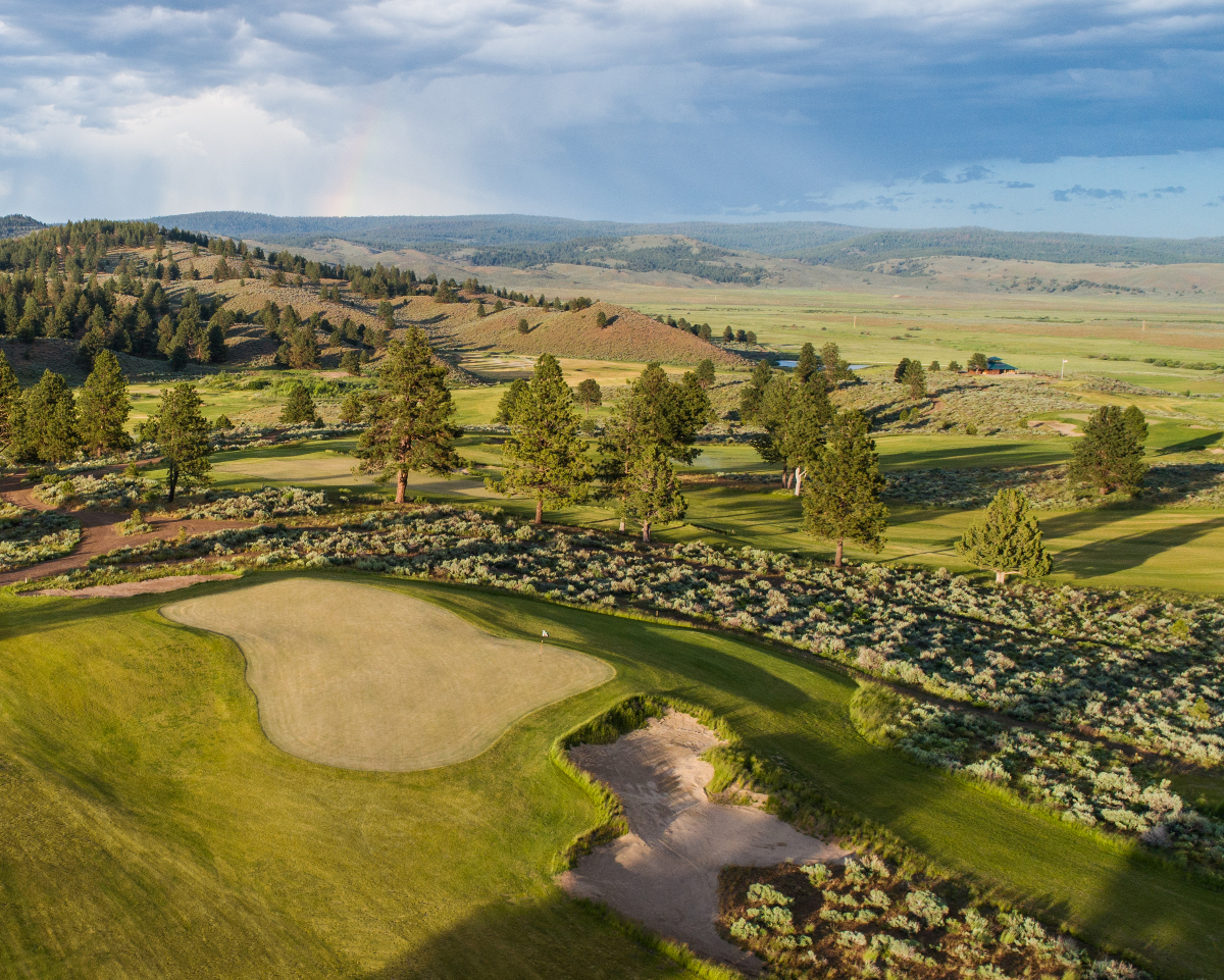 Silvies Valley Ranch reversible golf course