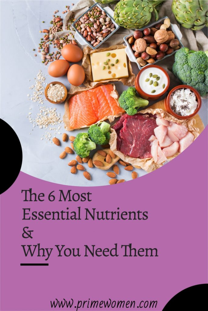 The 6 most essential nutrients and why you need them.