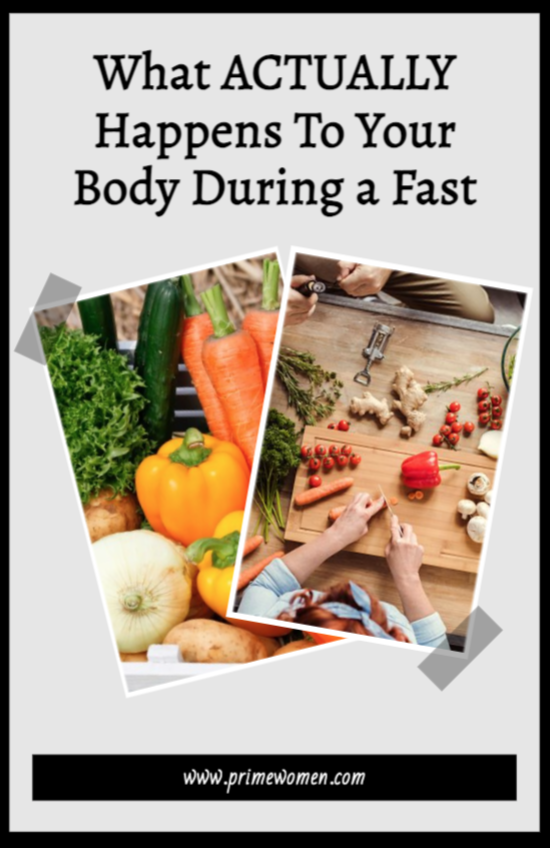 What actually happens to your body during a fast