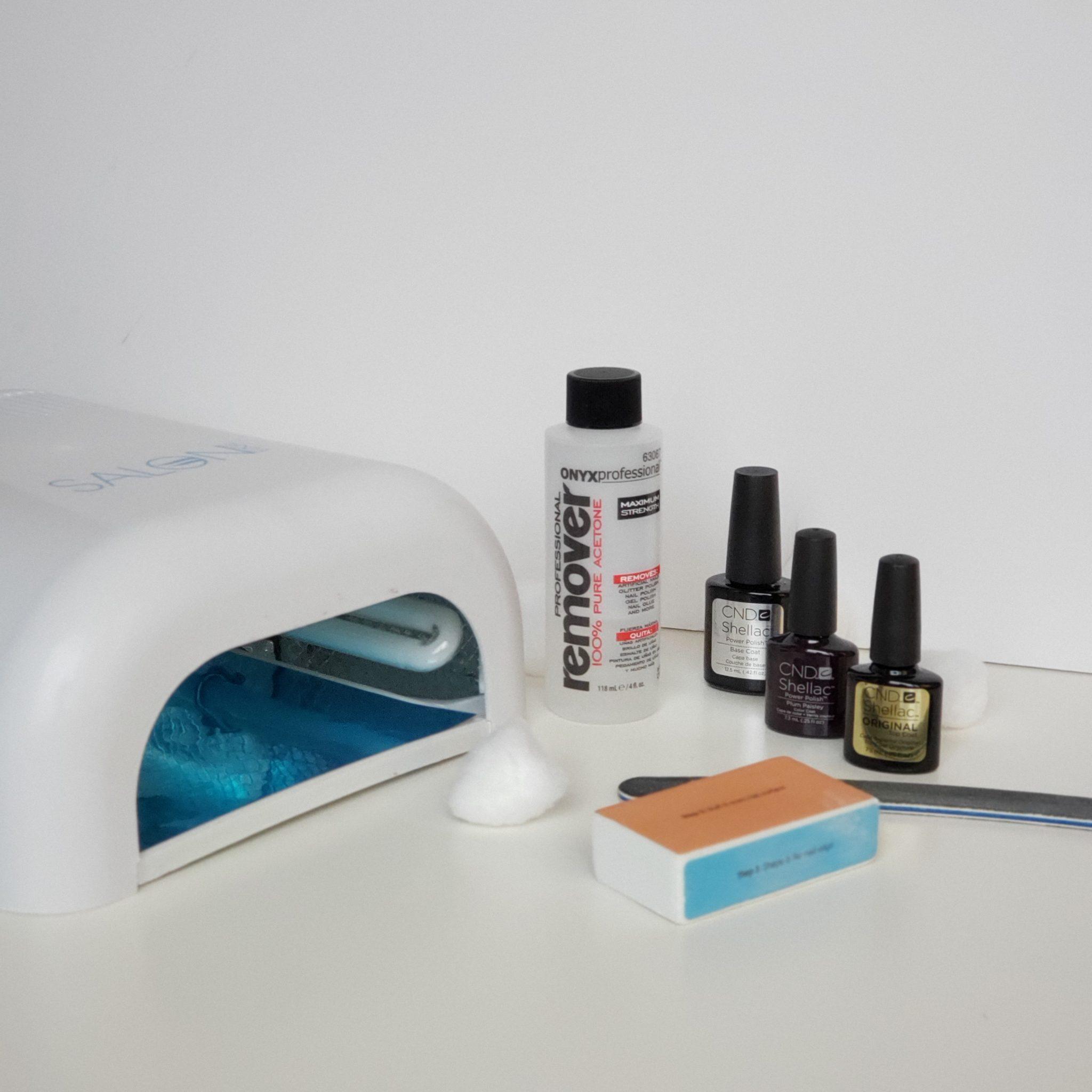 diy gel manicure supplies
