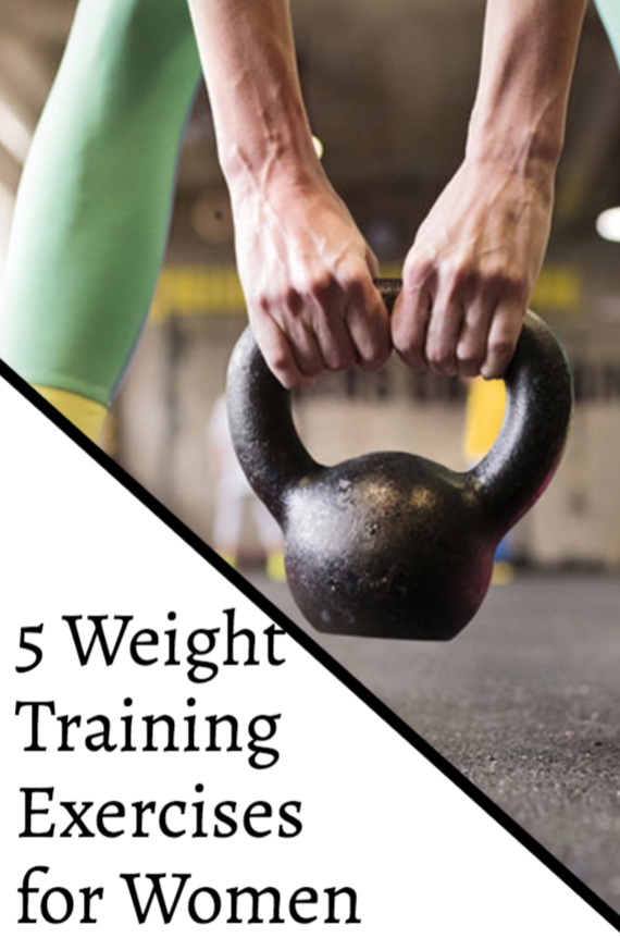 5 Weight Training Exercises for Women