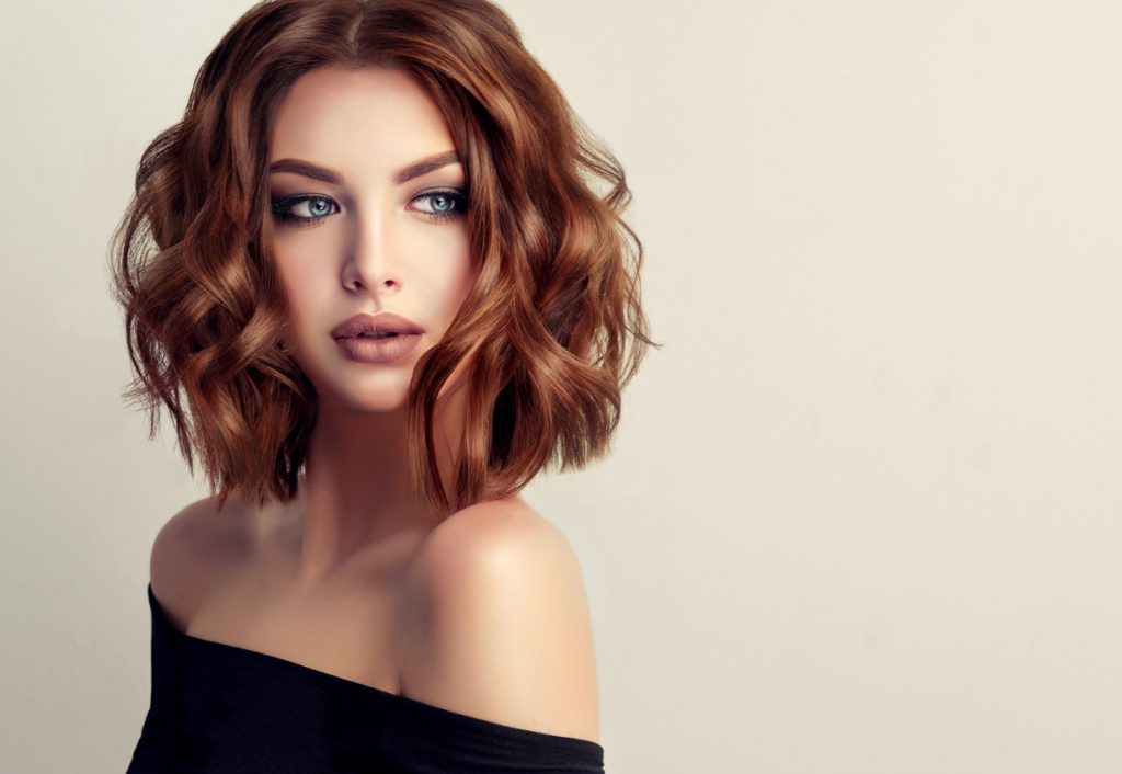 trendy hairstyles - the Lob