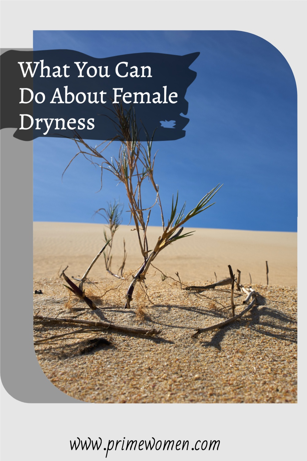 What you can do about female dryness