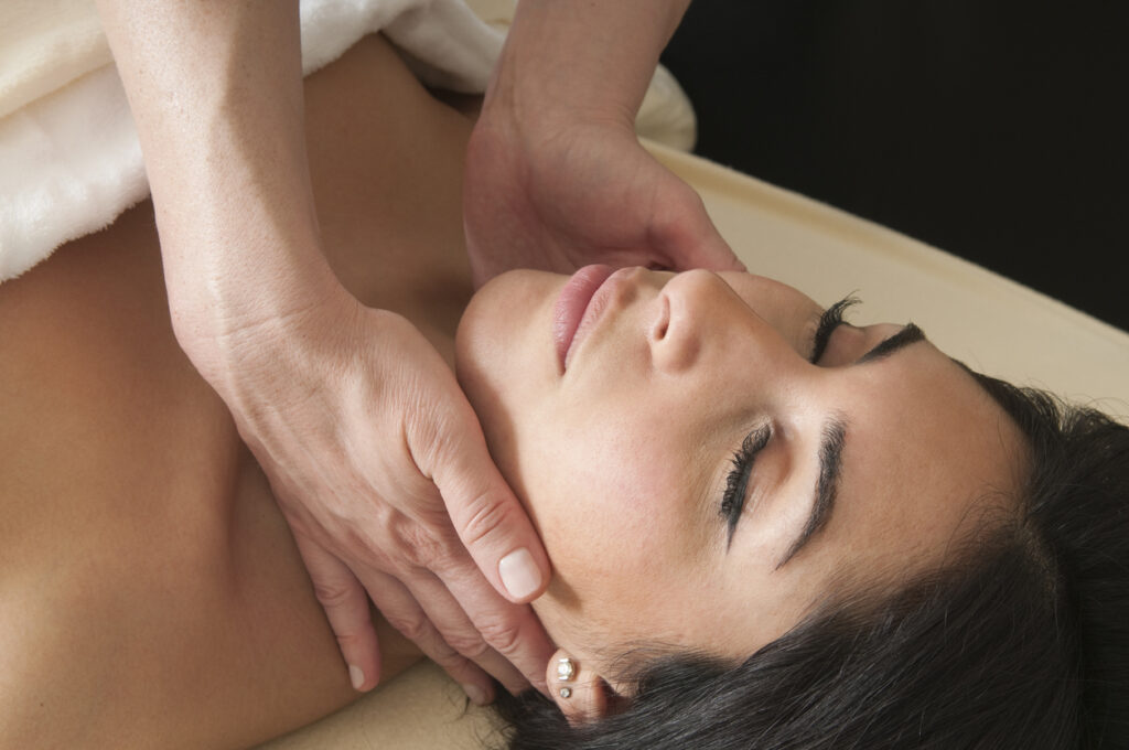 Lymphatic massage offers many health benefits.