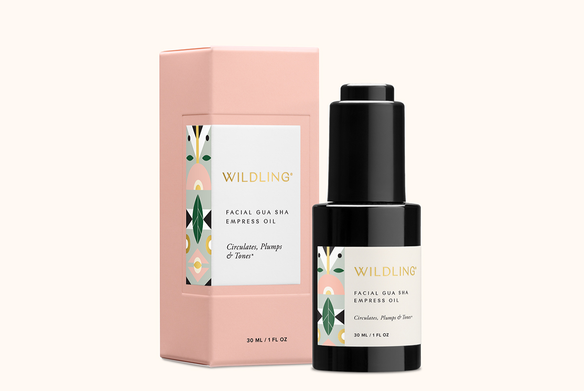 Empress Oil by Wildling for Facial Gua Sha