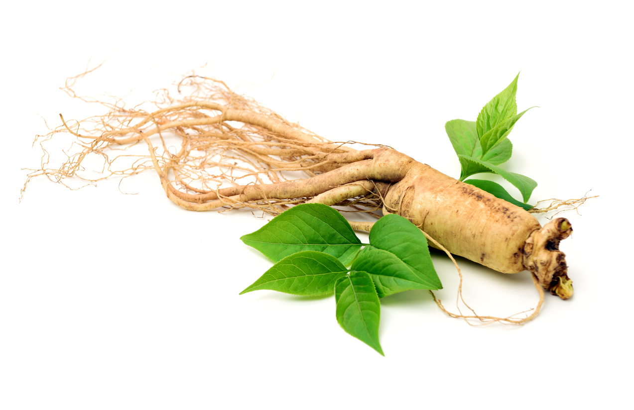 Ginseng herbs and supplements for menopause.