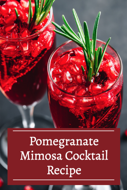Pomegranate Mimosa Cocktail Recipe