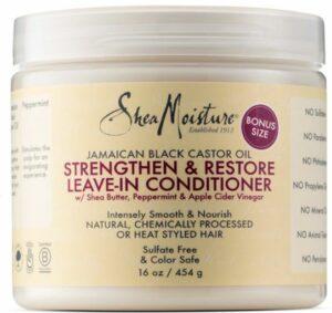 Shea Moisture Oil Strengthen, $21.50