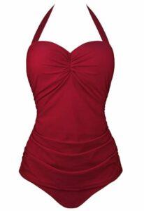 Amazon Angerella Vintage Halter Swimsuit