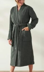 Coyuchi Unisex Air Weight Organic Robe