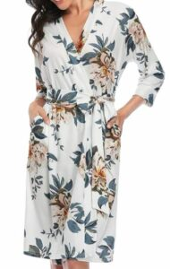 Floral Bath Spa Robe