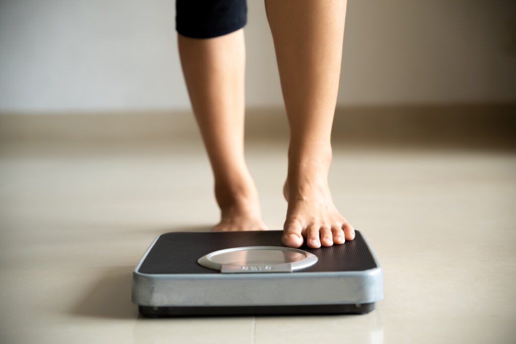 lose weight per month