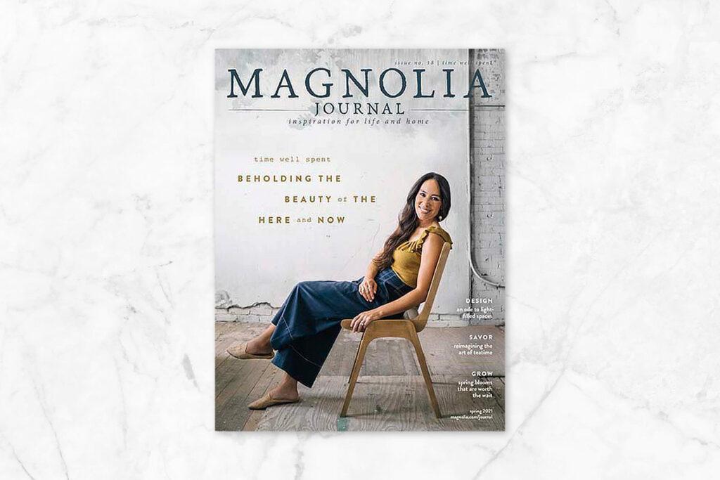 Magnolia Journal Magazine - best magazines for women over 50