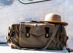 Personalized Canvas Weekender Travel Bags
