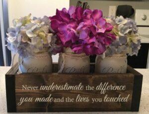 Retirement Flower Box