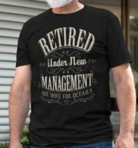 Retirement Shirts For Men