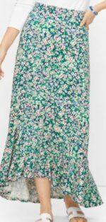 Talbot High Low Flounce Skirt
