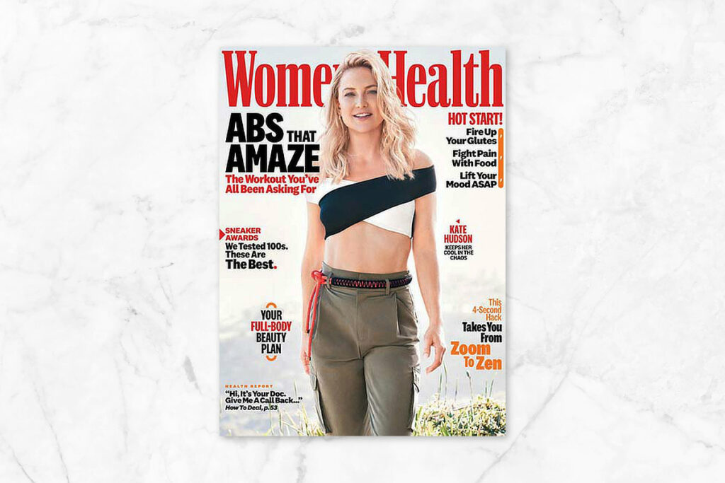 Women's Health Magazine - best magazines for women over 50