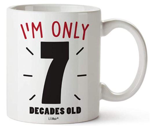 70th Birthday Gift Mugs