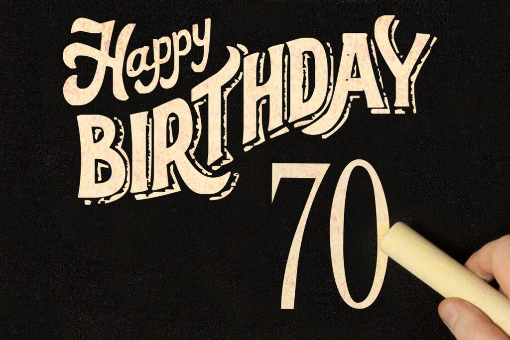 70th birthday gift guide