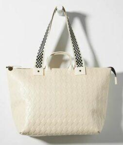 Anthropologie Clare V. Le Zip Tote Bag
