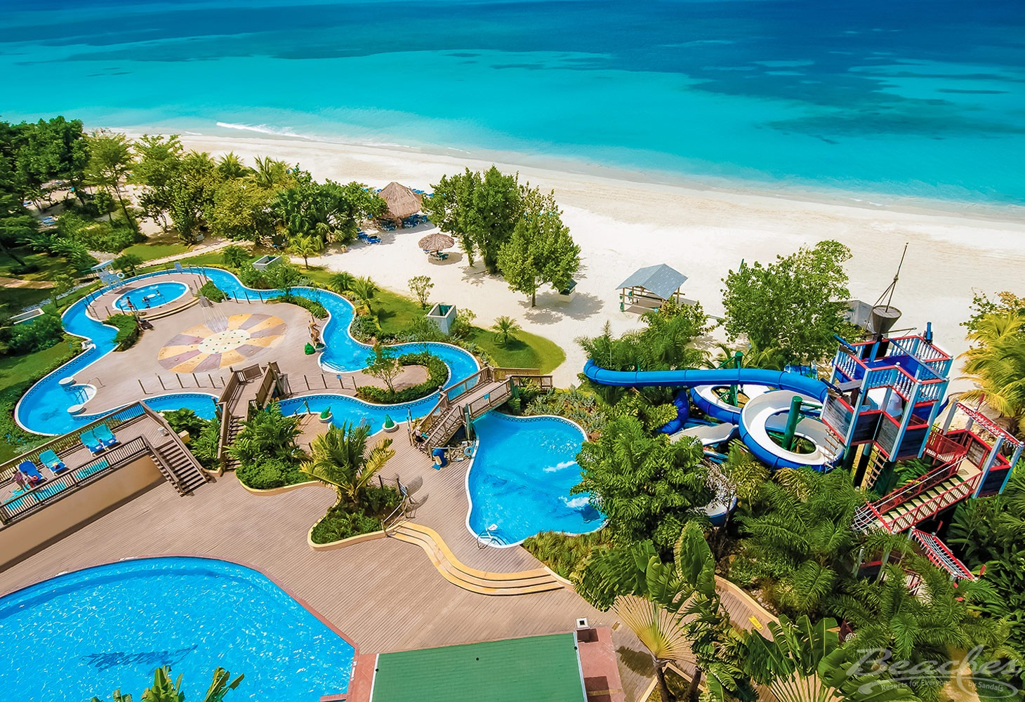 Beaches Resort Negril Water Park and Beach