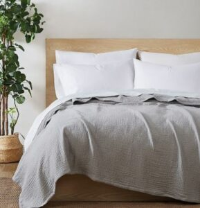 Bed Bath and Beyond Under The Canopy Organic Cotton Matelasse Blanket