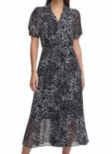 DKNY Women's Knot Sleeve Dress