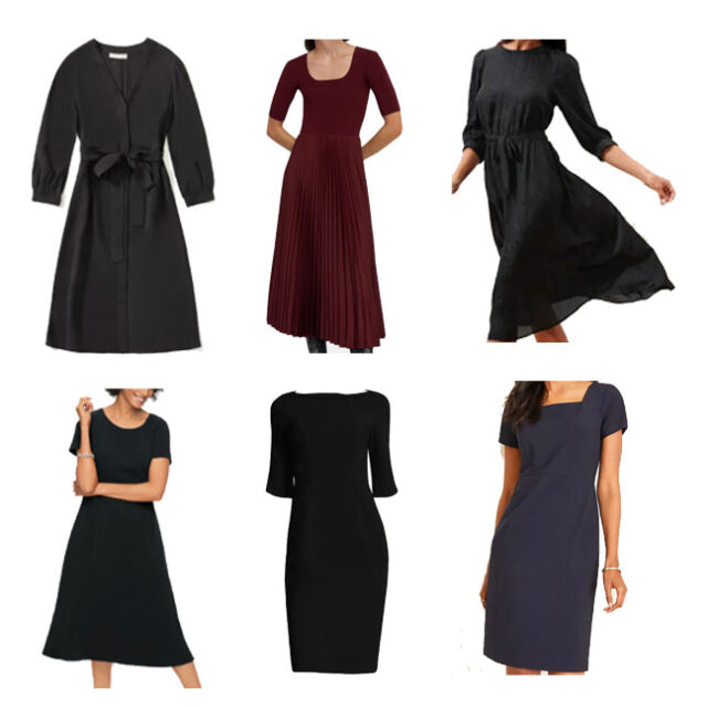 Dresses for a funeral outfit