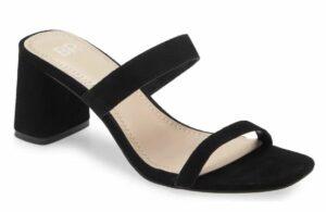 Emmie Block Heel Slide Sandal