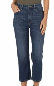 Lee Women's High Rise Straight Leg Crop Jean