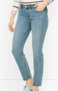 Talbots Slim Ankle Jeans