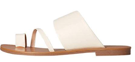 Women's Assymetric Toe-Thong Slipper