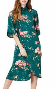 Women's Midi Floral Wrap Dress