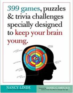 Brain games book by Nancy Linde