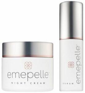 Emepelle for estrogen-deficient skin