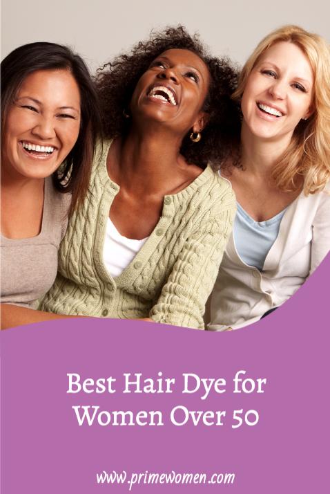 Best Hair Dye for Women Over 50