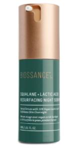 Biossance Squalane + Lactic Acid Resurfacing Night Serum