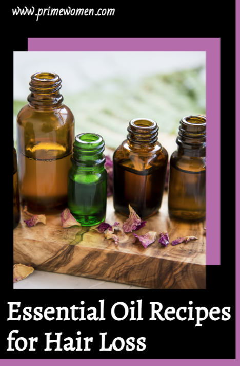 Essential Oil Recipes for Hair Loss