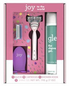 Joy & Glee Women's Razor Holiday Shave Care Gift Set