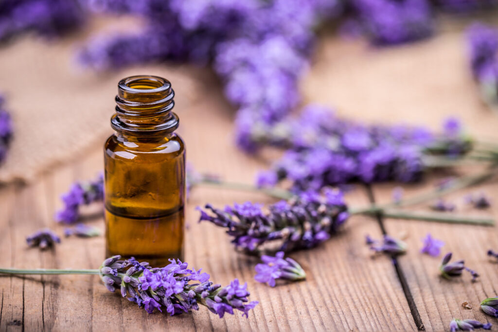 Essential oils for aches and pain