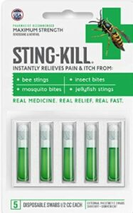 Sting-Kill First Aid Anesthetic Swabs