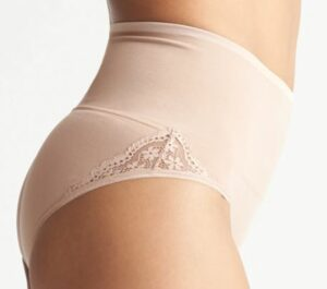 Ultralight Seamless Shaping Brief with Lace Insert